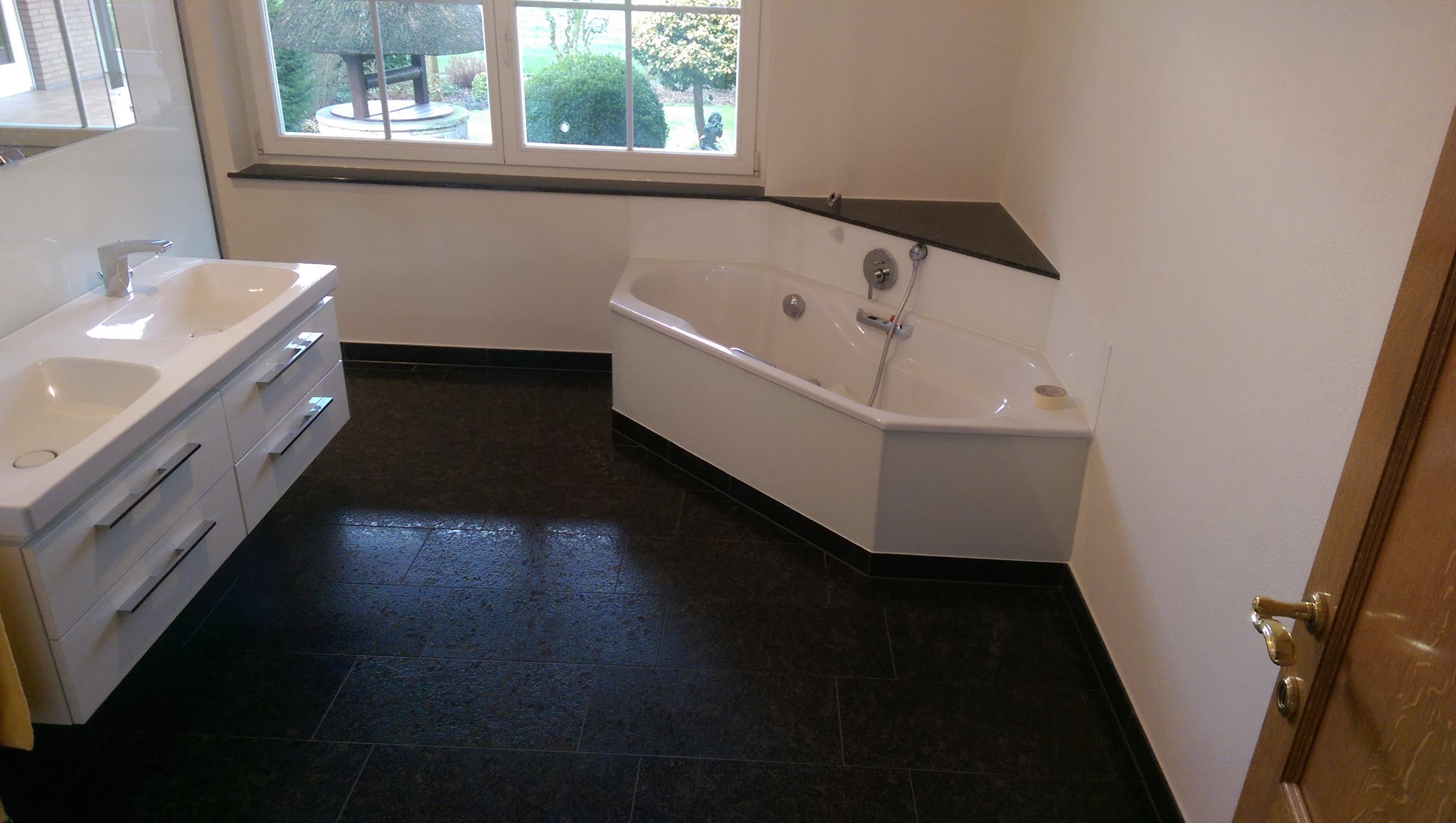 Badezimmer aus Granit