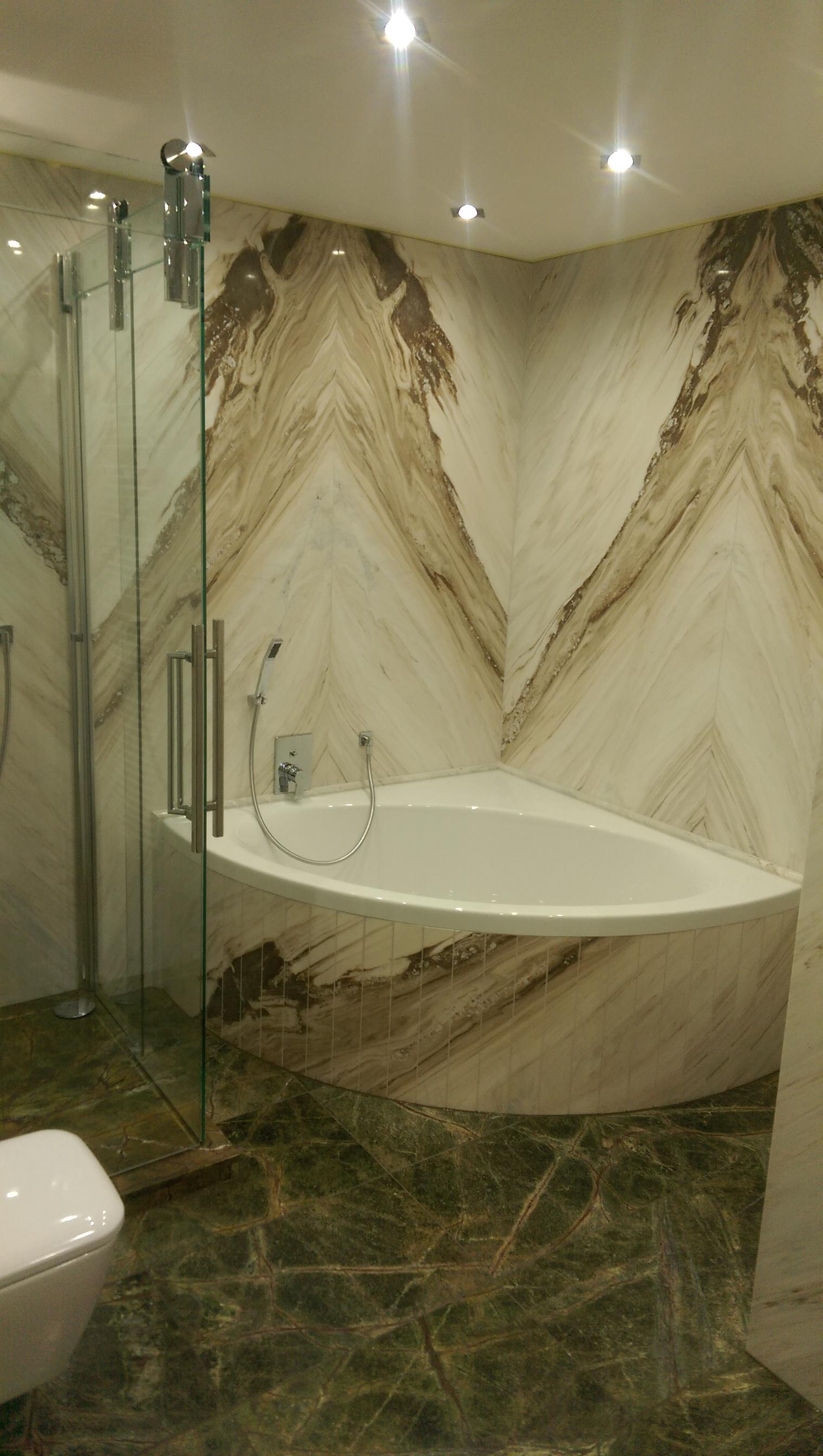 Badewanne im Luxusbad