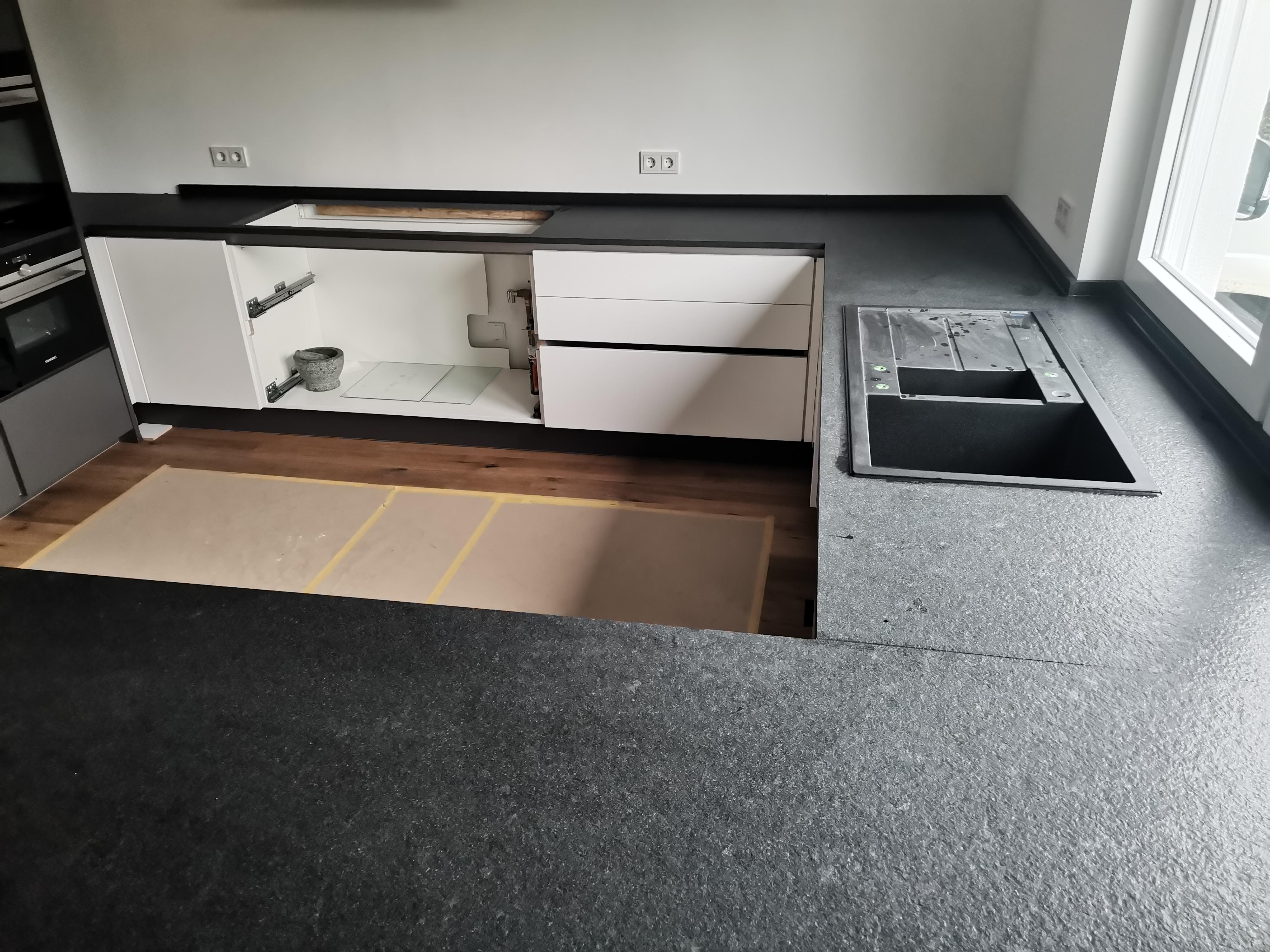 Granit Küchenplatte