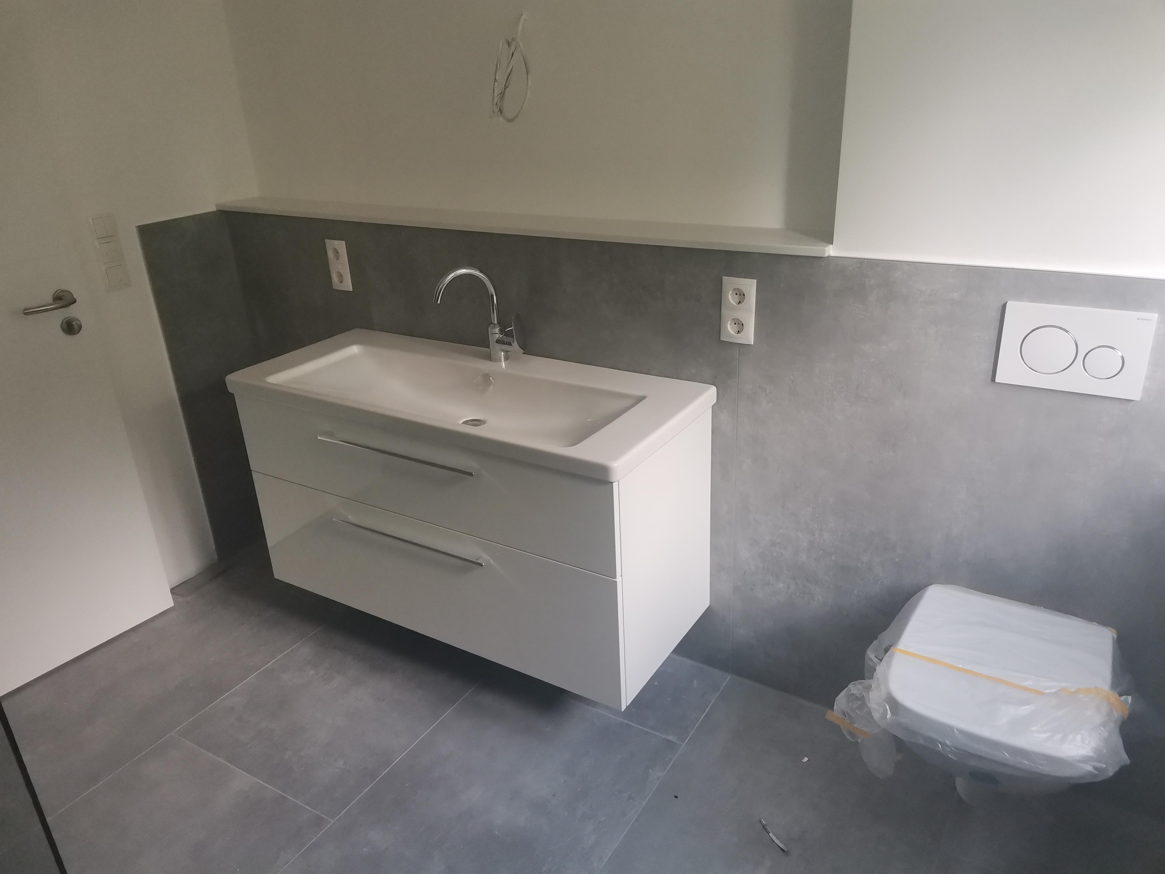 Granit-Badezimmer